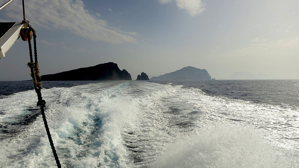 Panarea and Stromboli