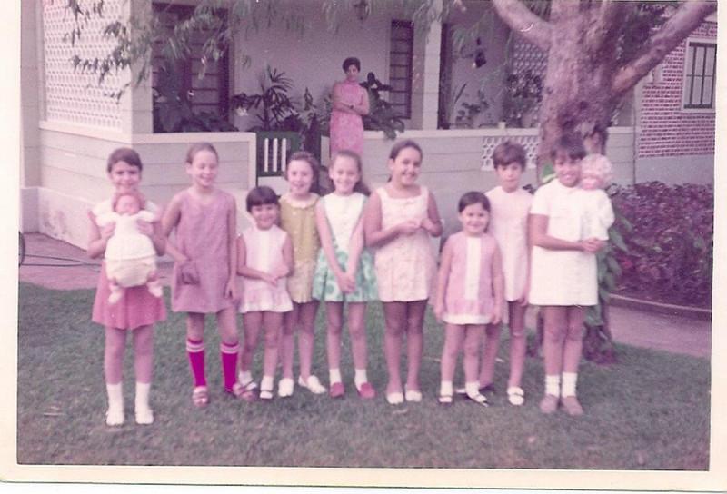 Batizado dos bonecos: Zezinha Gameiro,... Luisinha Rebelo, ...Helena Jaime Santos, .....