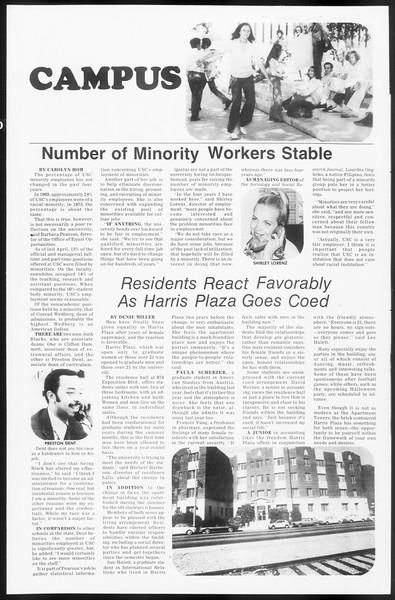 Daily Trojan, Vol. 66, No. 30, October 30, 1973