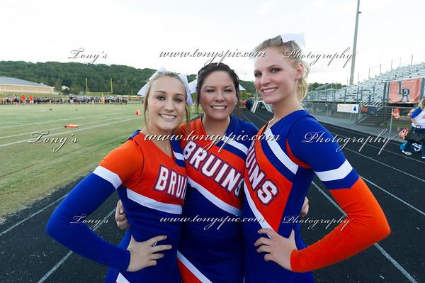 Cheerleaders @ Lafayette 26 Sept 2014