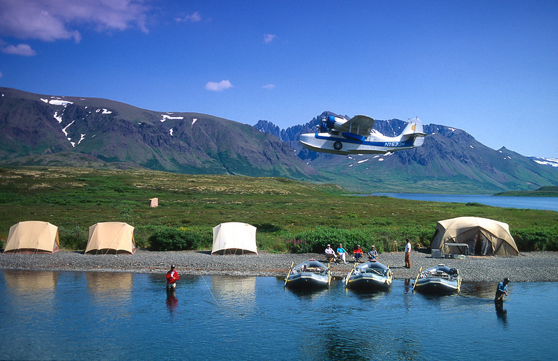 Lake Kogati Base Camp, Alaska