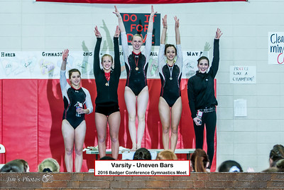 HS Sports - Gymnastics Badger Conference [d] Feb 18, 2016