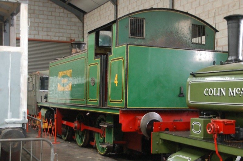 AB 2343 No.4 - Chasewater Railway - 10 September 2017