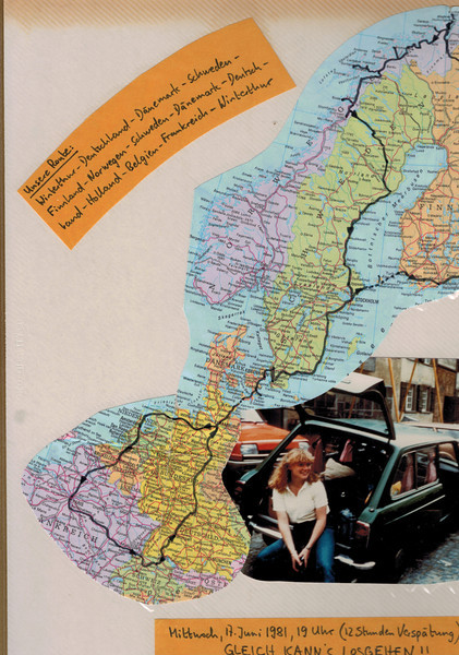 1. Anreise Deutschland + Dänemark