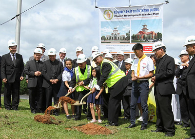 Holy Vietnamese Martyrs Church Breaks Ground