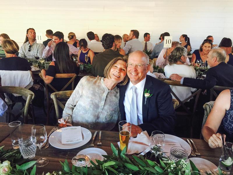 The Bride's Parents