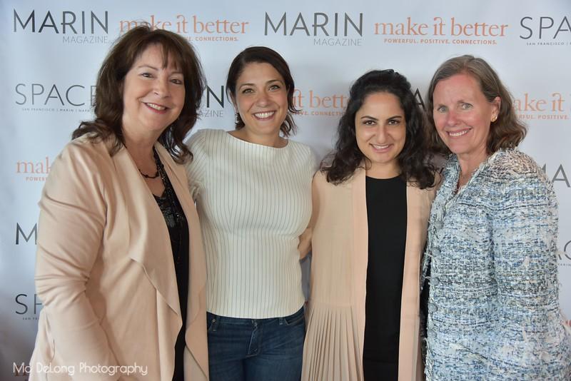 Michele Johnson, Salwa Ibrahim, Nurit Raphael and Susan Noyes