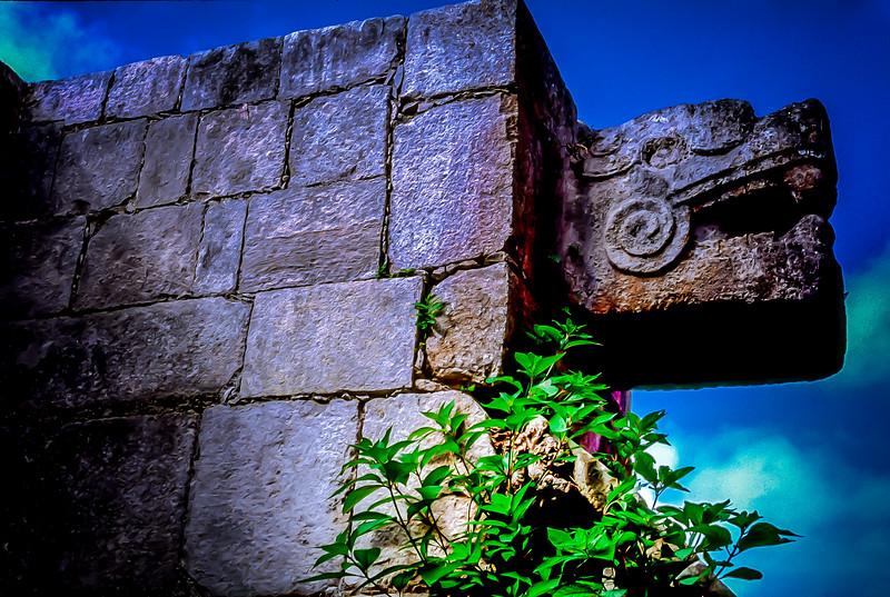 Temple of the Jaguar, Chichen Itza, Mexico