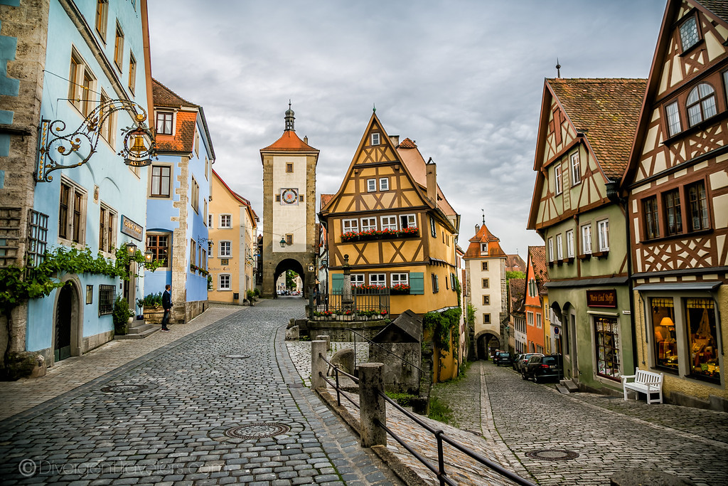 Castles in Germany - Rothenburg - Lina Stock