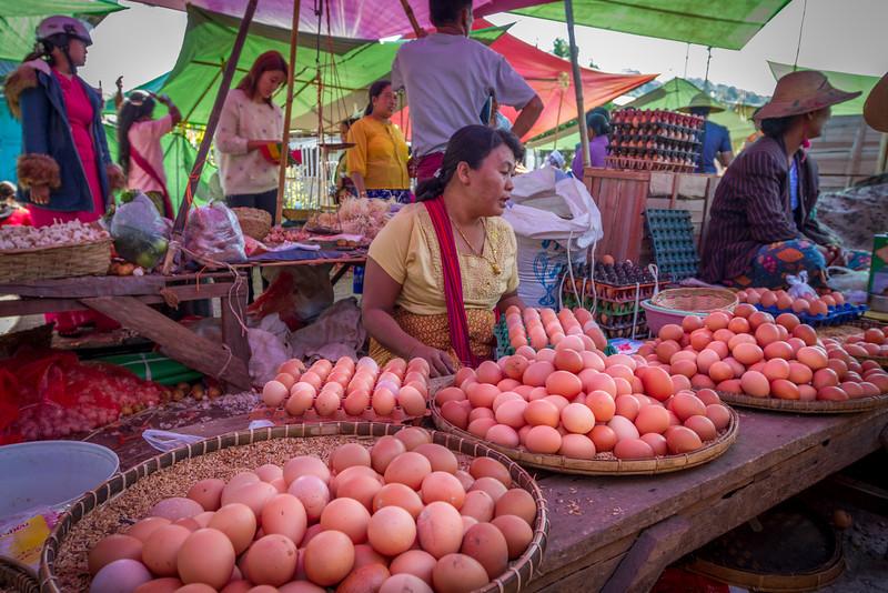 Kalaw Town Market
