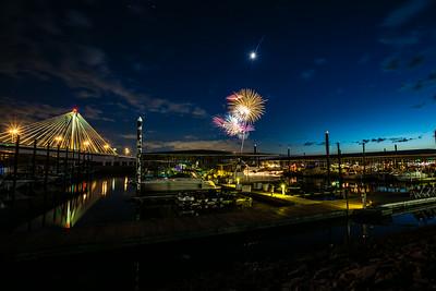 Alton Marina Fireworks