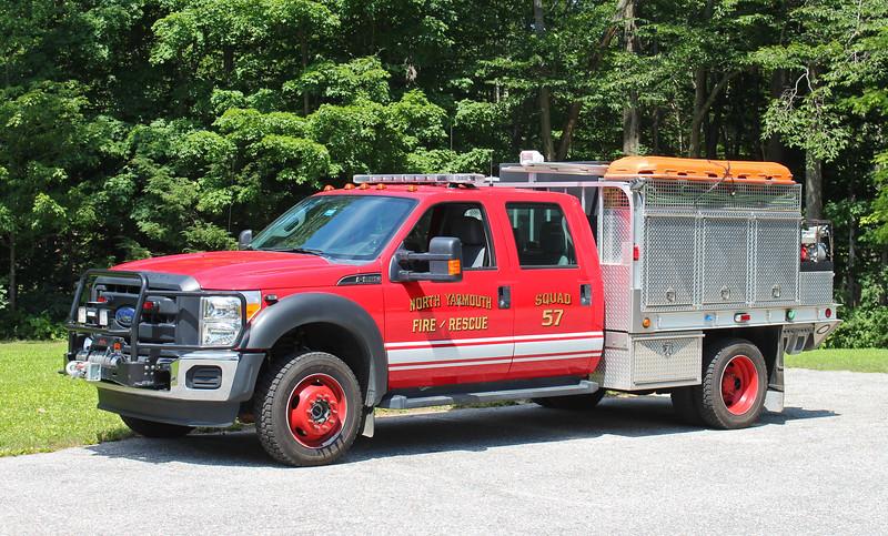 Squad 57   2013 Ford F-350 / Fire Trucks Unlimited   250 / 400