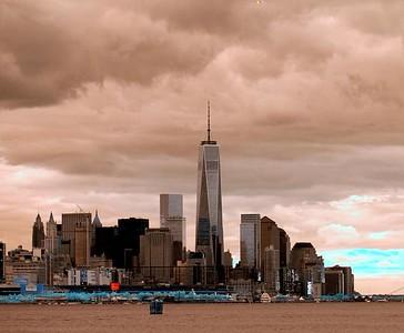 NY Skyline Fall 2014