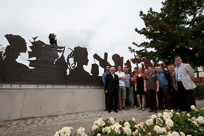 Bloemencorso 2011 - Inhuldiging monument 60 jaar corso
