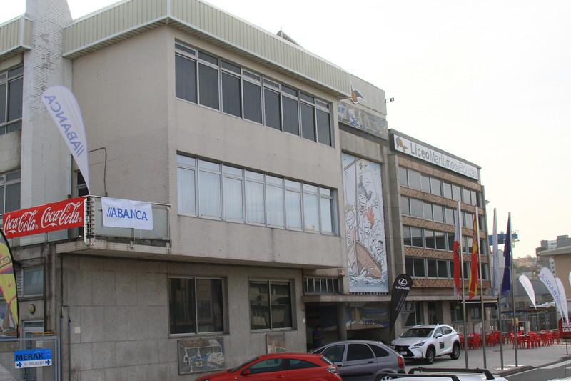 АЗИАЯАГ Liceo Maritimode Bottes ABANCA Efeat. (Стал. 1 /АВАЛСА РОМАНА MERAK те 986 283 воз