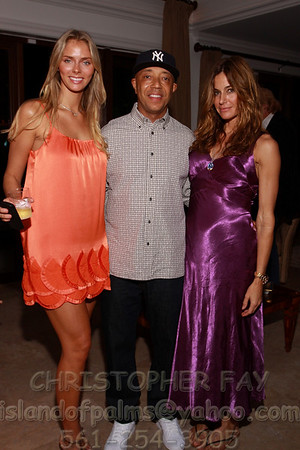 Russell Simmons Benefit at Villa Capponi - Sunset Island, Miami Beach_12-04-09