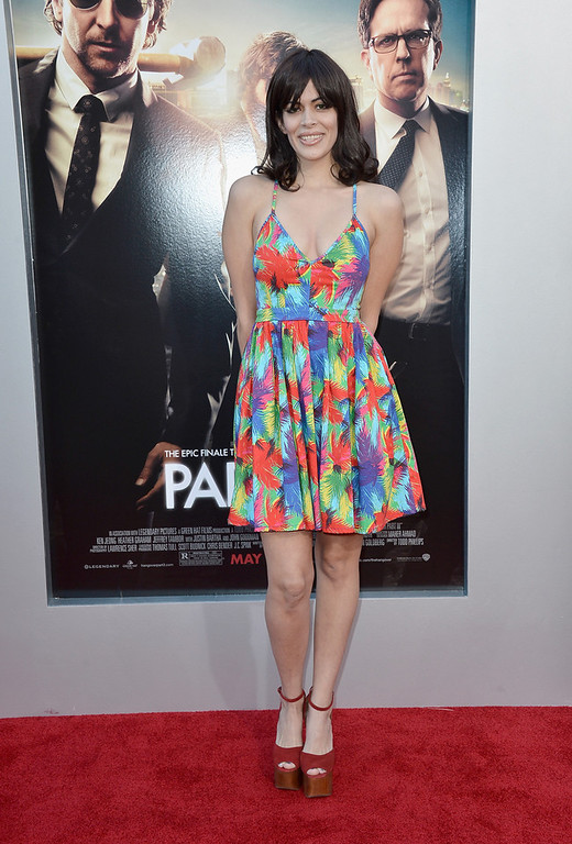 """. Actress Sol E. Romero  attends the premiere of Warner Bros. Pictures\' \""""Hangover Part 3\"""" at Westwood Village Theater on May 20, 2013 in Westwood, California.  (Photo by Frazer Harrison/Getty Images)"""