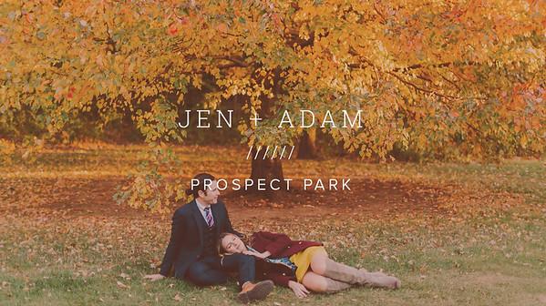 JEN + ADAM ////// PROSPECT PARK
