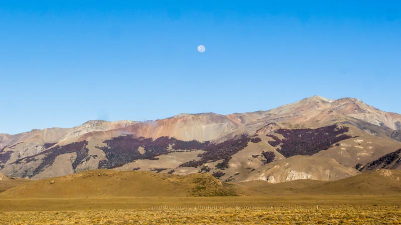A moonscape