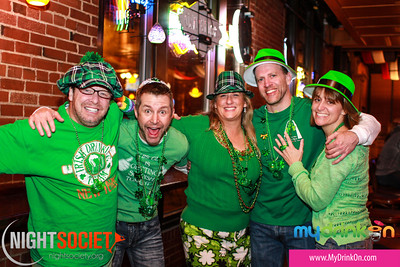 St. Practice Day Pub Crawl on Lacledes Landing 03-08-2014