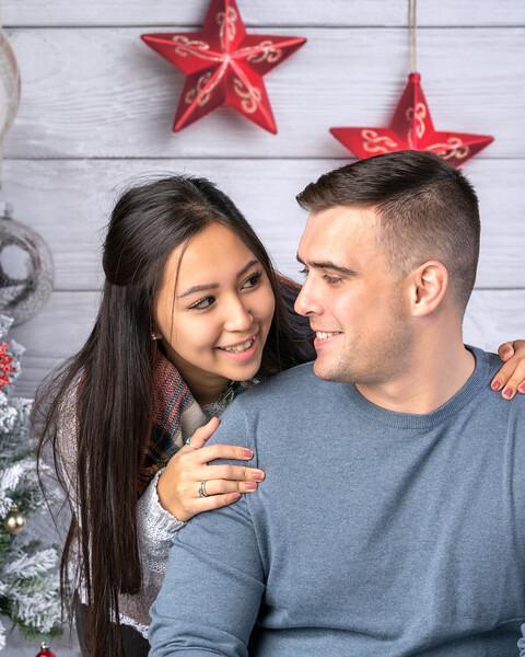Yuki & Trenton Holiday Shoot