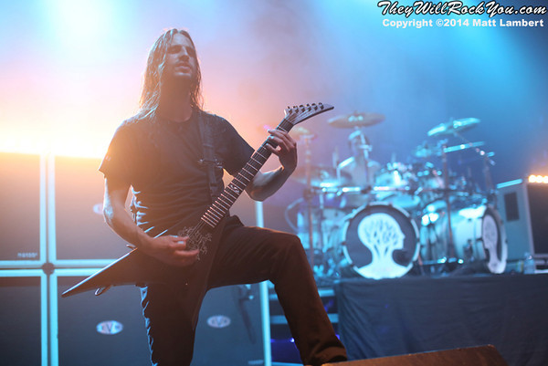 Gojira <br> May 16, 2014 <br> The Palladium - Worcester, MA <br> Photos by: Matt Lambert
