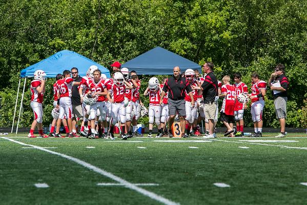 SJA Varsity Football (2014-08-31)