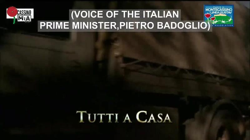 Battle of Cassino timeline