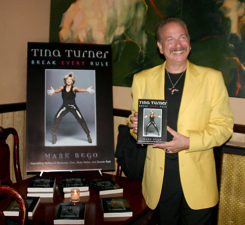 Sept 22, 2005 Tina Turner Book Party, author Mark Bego