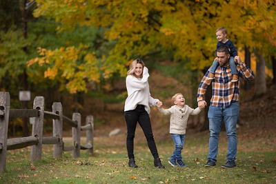 Batchelor Fall Family Portraits -New England Autumn Brianna Jeremy Jackson Stanley Park Westfield Massachusetts Mother Son Brother Husband Wife Father Dad Mom Couple Love Happy Candid Natural Playful Leaves Kimberly Hatch Photography Western Mass Kids Chi