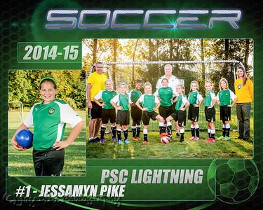 2014-15 PSC U10 Girls Team Photo Mates