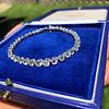 9.50ctw Round Brilliant Diamond Tennis Bracelet 7