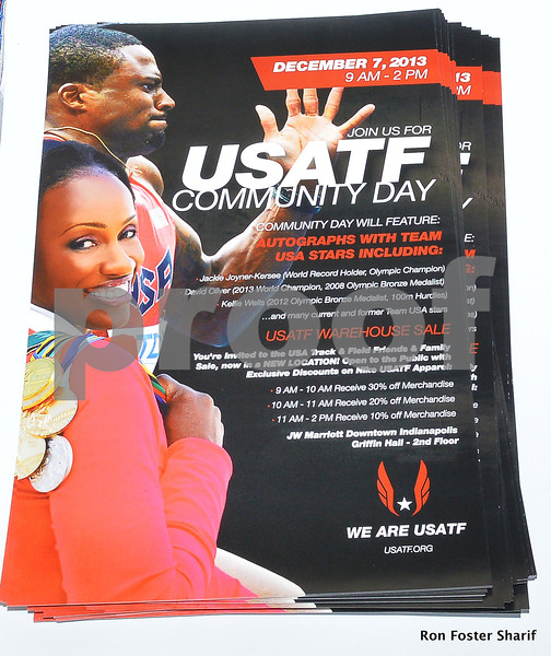 USATF Community Day & Jesse Owens Award Banquet: Indianapolis, Ind