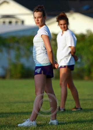 Midget Cheerleading Practice 2008