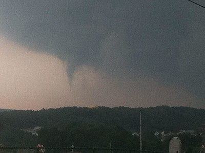 Views of Sky Above Nesquehoning, from David Harvan (7-23-2014)