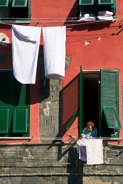 'Hanging Out' - Vernazza, Italy