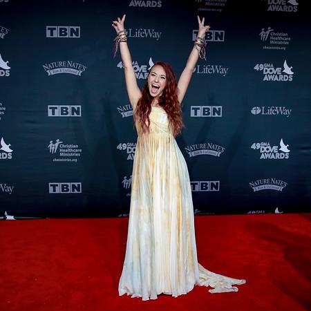 49th GMA Dove Awards   Nashville TN   10-16-18