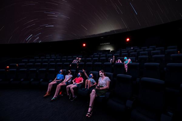 Whitney and Elizabeth MacMillan Planetarium August 2020