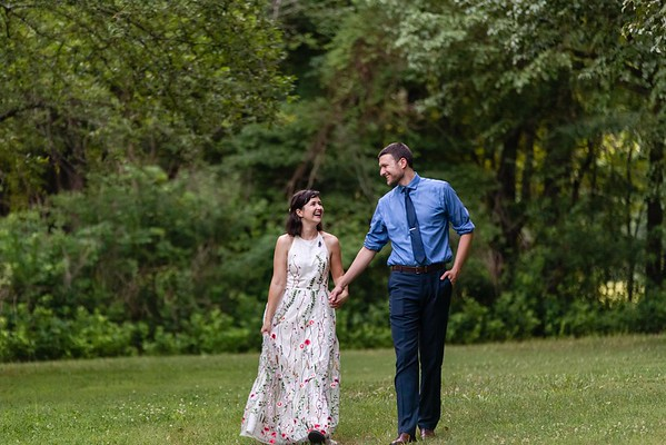 Lindsey & John | An Intimate, Laid-Back Wedding Celebration in the Woods at Timberlake Earth Sanctuary