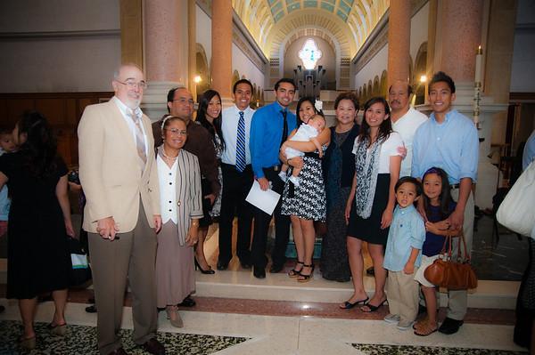 Keoni Flynn Baptismal