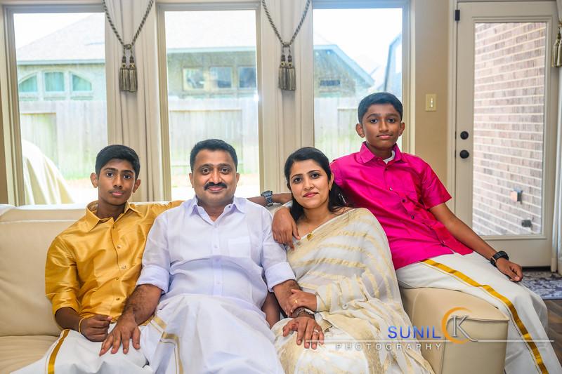 Thekkanatt Onam Family Shoot