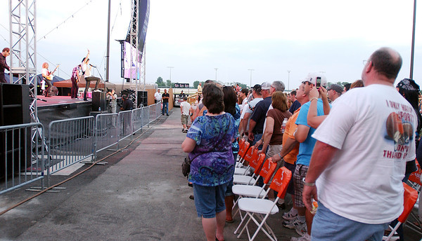 Foreigner performs at Hoosier Park