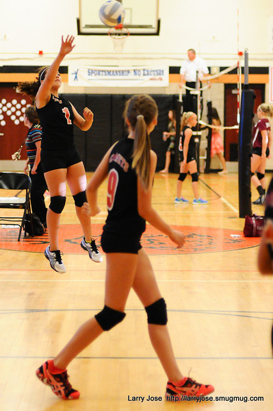 JMS vs Union City Volleyball 8th & 7th