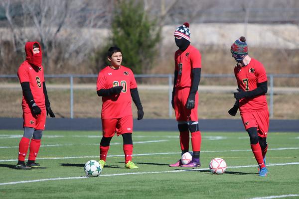 2017 Boys V Soccer vs Allen Academy