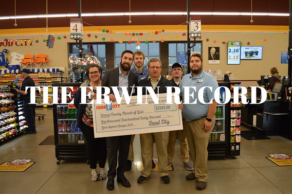 Food City Donates to Second Harvest - October 2019