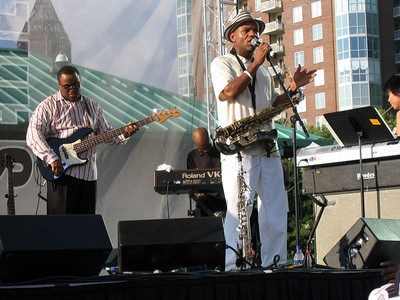 "Kirk Whalum & band at Atlanta's ""Got Jazz"" Series"