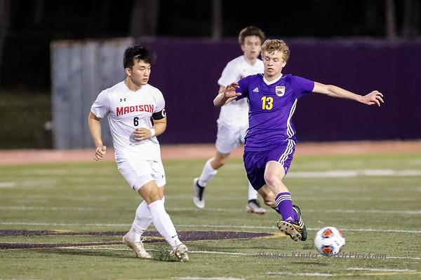 Boys Varsity Soccer v James Madison 3/15/19