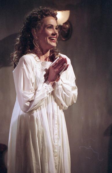 Rachel Sledd in DIANA OF DOBSON'S by Cecily Hamilton  Photo: Richard Termine
