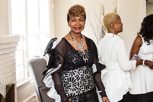 Mother Shirley Hawkins 75th Birthday Celebration