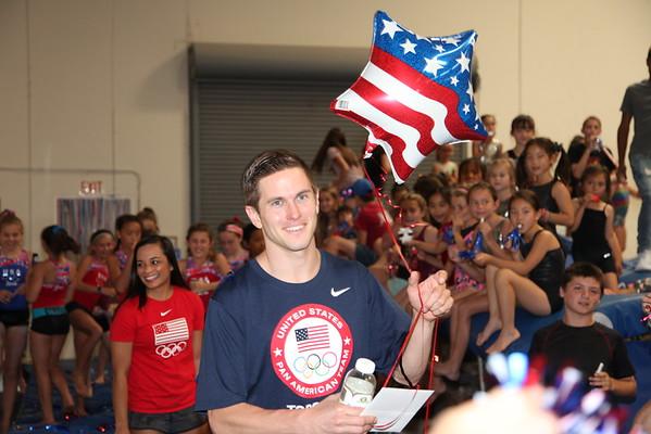 2016 Olympian Logan Dooly Congratulatory Celebration